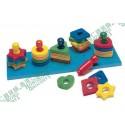 Lauri Toys Shape and Color Sorter 益智圖案排序玩具 練眼手 美國製造 安全無毒