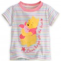 Disney Winnie the Pooh and Piglet Tee for Baby 原裝正版小熊維尼嬰兒 Tee 18-24M