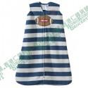 HALO SleepSack Wearable Blanket 可穿式防踢被睡袋/睡袍 抓毛 保暖有拉鍊 6-12個月 男仔款