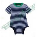 z (售完) Ralph Lauren Infant boys Striped Jersey Bodysuit 橫間全棉嬰兒夾衣