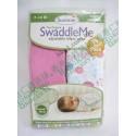 Summer Infant SwaddleMe Cotton 初生BB 純棉包巾包被 2件裝 女仔款