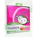 Summer Infant SwaddleMe Cotton 初生BB 純棉包巾包被 1件裝 可愛小猴