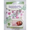 Summer Infant SwaddleMe Cotton 初生BB 純棉包巾包被 1件裝 粉紅