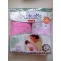 Summer Infant SwaddleMe MicroFleece 初生BB 抓毛包巾包被 2件優惠套裝 粉紅