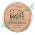 z (停售) Rimmel London Stay Matte Pressed Powder 粉底蜜粉 美國版 transparent 001