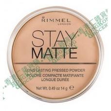z (停售) Rimmel London Stay Matte Pressed Powder 粉底蜜粉 美國版 transparent 001