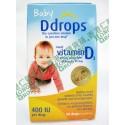 z (停售) Ddrops Baby 維他命D 400IU 補鈣滴劑 促進骨骼發育及鈣的吸收 (90滴)