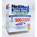 NeilMed's Sinus Rinse 擠壓式洗鼻 PH平衡混鹽100包  緩解鼻子過敏