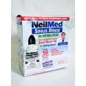 NeilMed's Sinus Rinse 擠壓式洗鼻樽1個+50包PH平衡混鹽  緩解鼻子過敏