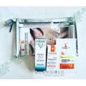 Sample Size: La Roche-Posay 濕霜抗敏修護霜+全效抗紅修護霜 連化粧品收納袋