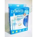Dr Brown's PP 8oz 3件套裝奶樽 標準口 專利氣管 防嬰兒氣脹 嘔奶 唔漏奶